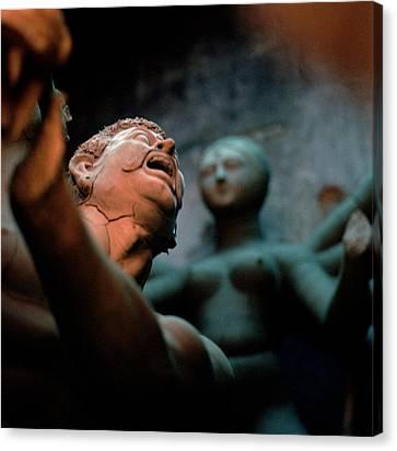The Scream Canvas Print by Shaun Higson