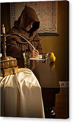 The Scribe Canvas Print