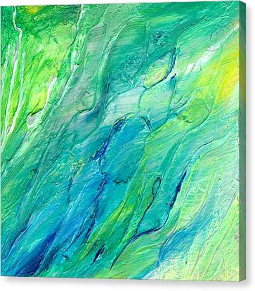 The Sea Canvas Print by Rosie Brown