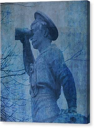 The Seaman In Blue Canvas Print