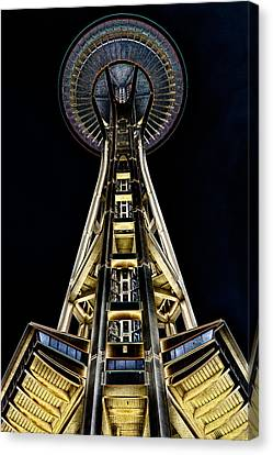 The Seattle Space Needle Canvas Print