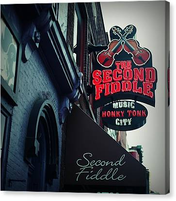 The Second Fiddle Canvas Print