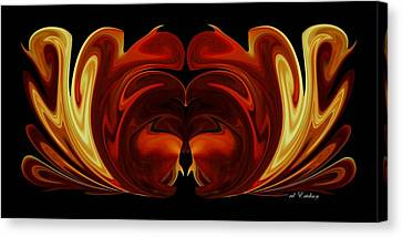 The Second Work Canvas Print by Roy Erickson