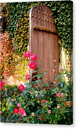 The Secret Door  Canvas Print by Allan Millora