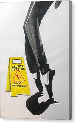The Secret El Secreto Canvas Print
