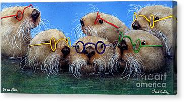 The See Otters... Canvas Print by Will Bullas