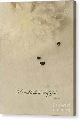 Parable Canvas Print - The Seed Is The Word Of God by Ella Kaye Dickey