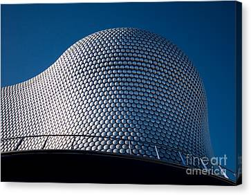 Disk Canvas Print - The Selfridges Building by Anne Gilbert