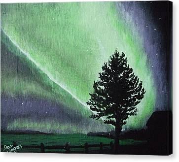 The Sentinel Canvas Print by Dan Wagner