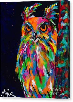 The Sentinel Canvas Print by Tracy Miller
