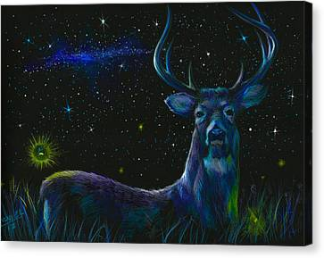 The Serenity Of The Night  Canvas Print by Yusniel Santos
