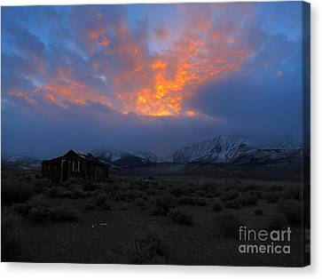 The Shack V.1 Canvas Print by Paul Foutz