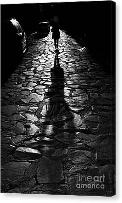 The Shadow Canvas Print by Nicola Fiscarelli