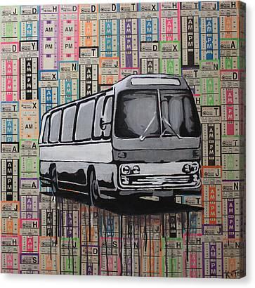 The Shame Train Canvas Print by Kate Tesch