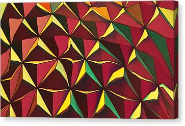 Shapes Of Color Canvas Print