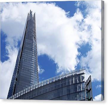 The Shard And The Place - London Canvas Print