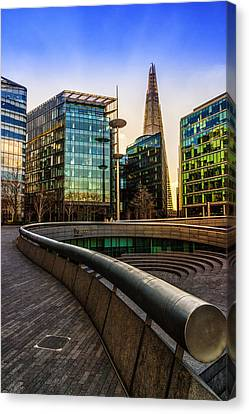 The Shard London Canvas Print by Ian Hufton