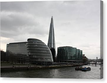 The Shard Canvas Print by Pat Purdy