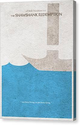The Shawshank Redemption Canvas Print by Ayse Deniz