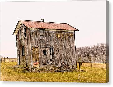 The Shed Canvas Print by David Simons