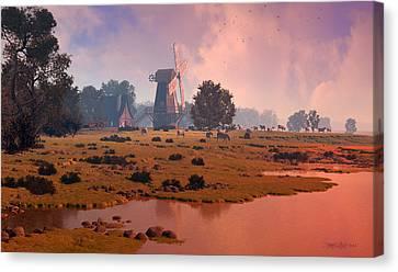 The Shepherd's Mill Canvas Print by Dieter Carlton