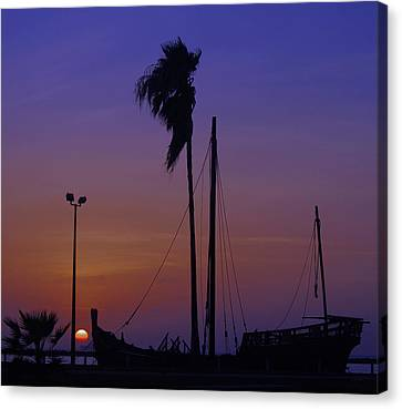 Canvas Print featuring the photograph The Ship by Leticia Latocki