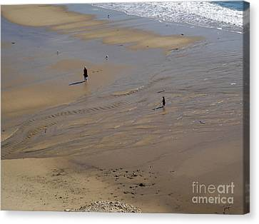 The Shore Canvas Print by Gregory Dyer