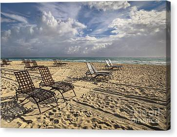The Shores Of An Infinite Imagination Canvas Print