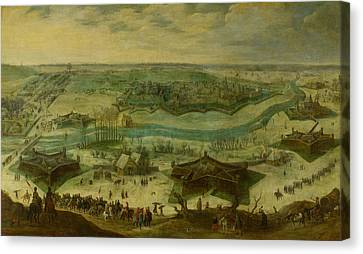 1622 Canvas Print - The Siege Of A City, Possibly The Siege Of Jülich by Litz Collection