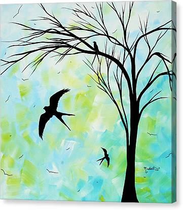 The Simple Life By Madart Canvas Print by Megan Duncanson