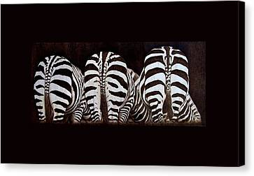 The Sisters Canvas Print by Jo Schwartz
