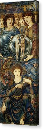 The Sixth Day Canvas Print by Edward Burne Jones