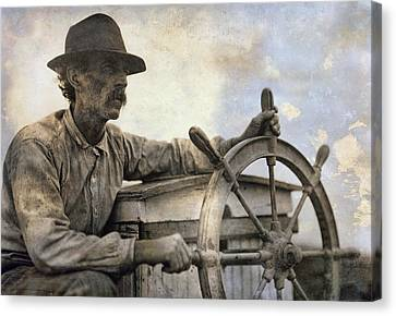 The Skipper  1911 Canvas Print