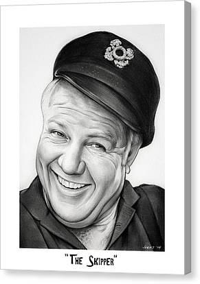 The Skipper Canvas Print by Greg Joens