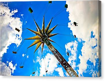 The Sky Flyer Canvas Print by Colleen Kammerer
