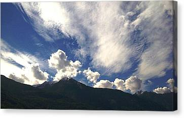 The Sky Canvas Print