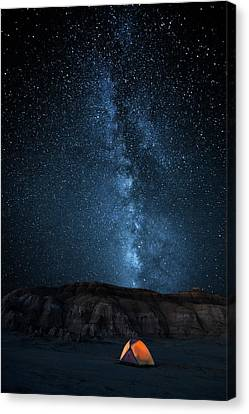 The Sky Is My Blanket Canvas Print by John Fan