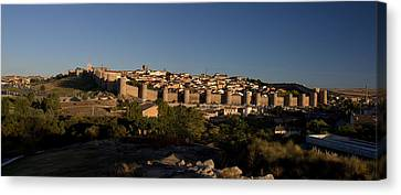 Canvas Print featuring the photograph The Skyline Of Avila Spain by Farol Tomson