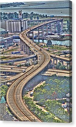 The Skyway To The Southtowns Canvas Print
