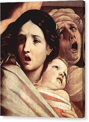The Slaughter Of The Innocents Canvas Print