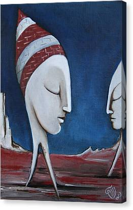 The Sleepers  Canvas Print by Simona  Mereu