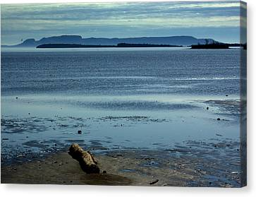 The Sleeping Giant At Low Tide Canvas Print