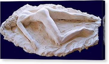The Sleeping Pompeiiana Canvas Print by Azul Fam