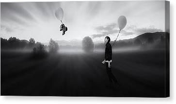 The Sleepwalking Dreamer Canvas Print by Martin Smolak
