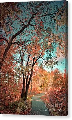 The Slow Fade Of Autumn Canvas Print by Tara Turner