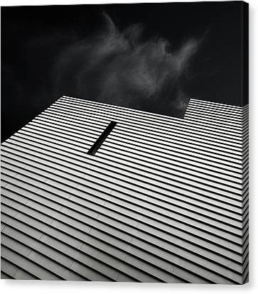 The Small Window Canvas Print by Gilbert Claes