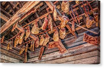 The Smokehouse Canvas Print by Rob Sellers