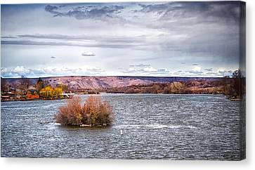 The Snake River Near Hagerman Idaho Canvas Print