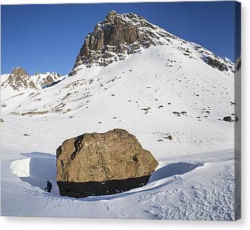 The Snow Bowl Canvas Print by Tim Grams