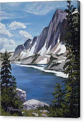 The Snowy Range Canvas Print